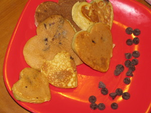 Skinny Girl Chocolate Chip Pancakes