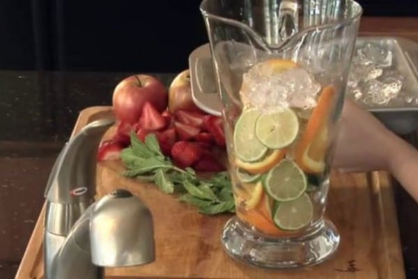 Fruit Infused Water Recipes Video