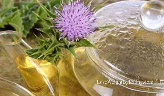 Milk Thistle Tea Detox Drink