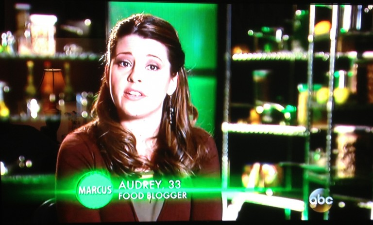 "on ABC's ""The Taste"""