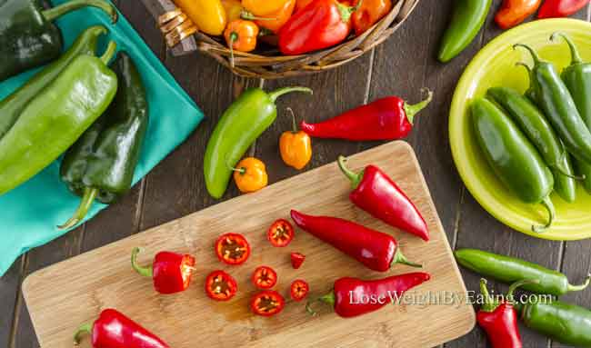 Foods That Burn Belly Fat Peppers